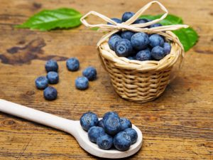 Blueberries High Carb Low Fat Food