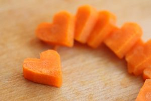 Carrots are good for Heart