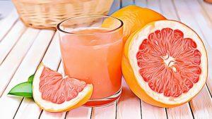 Grapefruit High Carb Low Fat Food