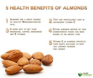 How to Reduce Wrinkles Around Forehead with Almonds
