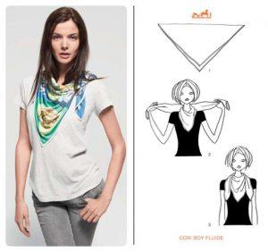 Ways to Tie Hermes Scarf