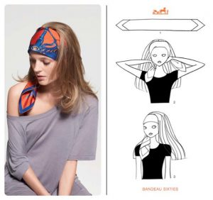 Ways to Tie a Head Scarf Hermes