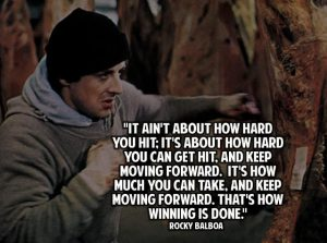 Keep Moving Forward Quotes Rocky