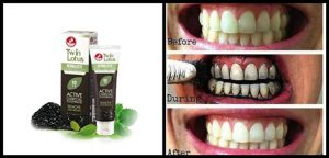 Twin Lotus Charcoal Toothpaste