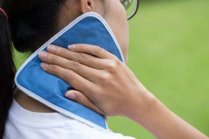 Cold Compress to Treat Hickeys