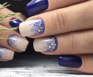 Ombre Nail Ideas for Short Nails