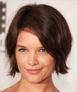Best Short Hair for Round Face and Double Chin