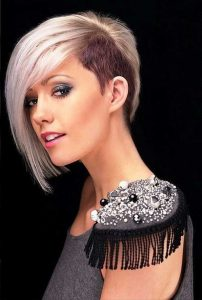 Short Hairstyles for Round Face Double Chin