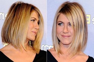 Short Hairstyles for Round Face with Double Chin