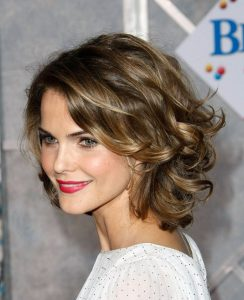 Short Hairstyles for Round Face with Double Chin over 50